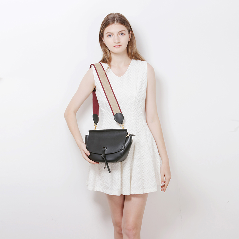 Chinese Supplier for Fashion PU Sling Bag with Webbing Shoulder Bag- YZ920045