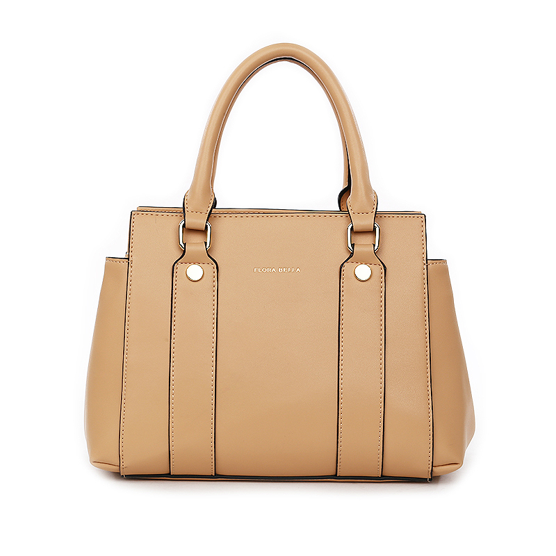 Chinese Supplier for Fashion Ladies Handbag with Double Handles and Shoulder Strap-YZ920493
