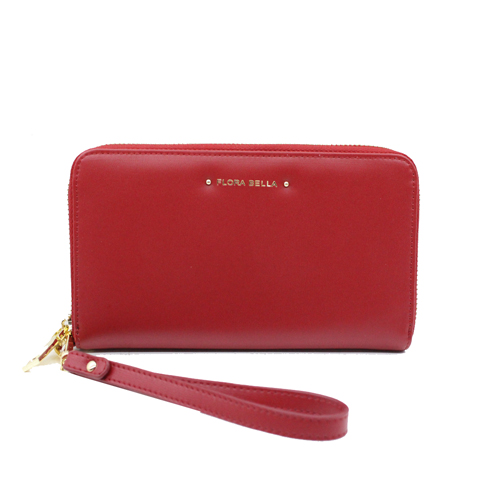 Classic long size with women wallet with wrist belt-YZ800481