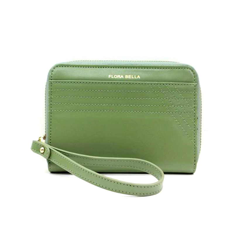 OEM/ODM Available Ladies Short PU Wallet with Zipper Closure-YZ810225