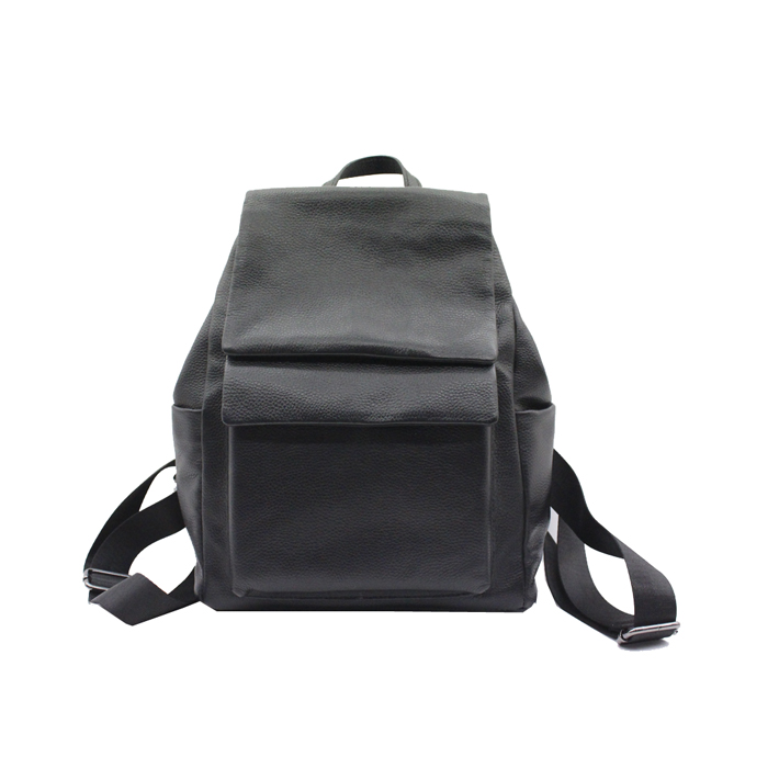 Manufacturer Custom Durable Leather Material Leisure Outdoor Backpack-YZ820113A