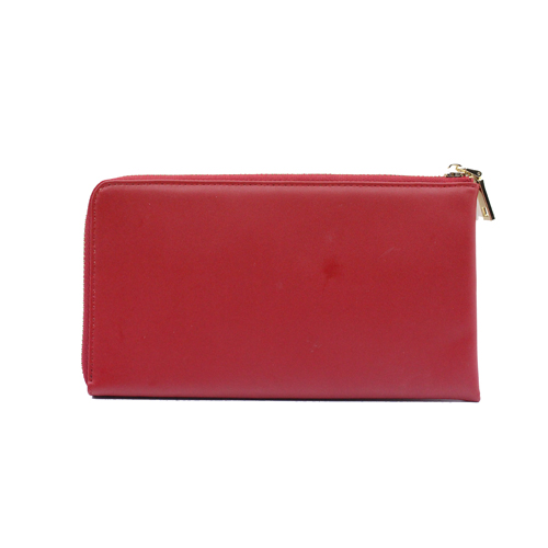 Half-open zipper long ladies wallet card holder coin purse-YZ830081