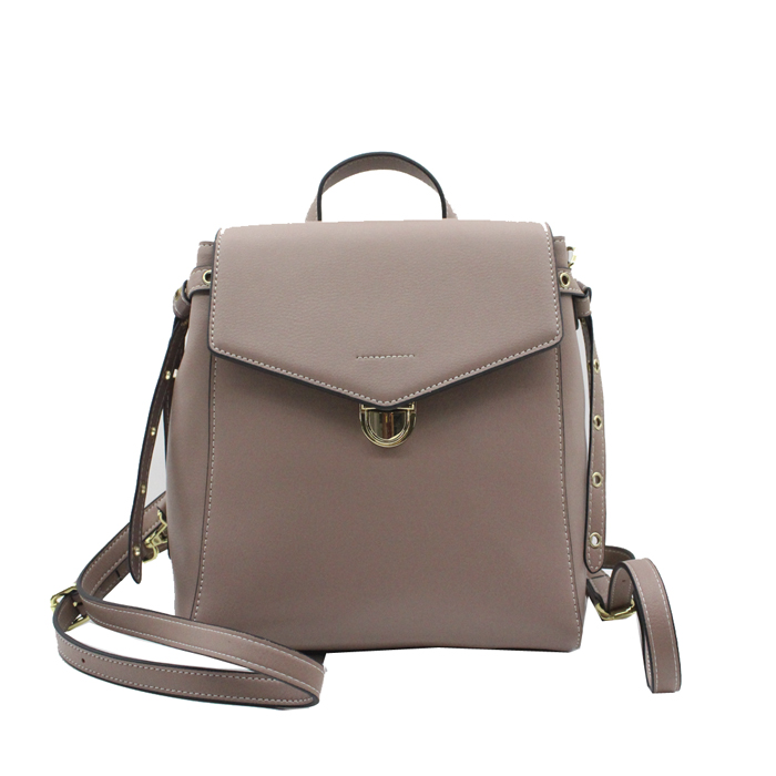 New wholesale luxury  popular high quality leather ladies backpack