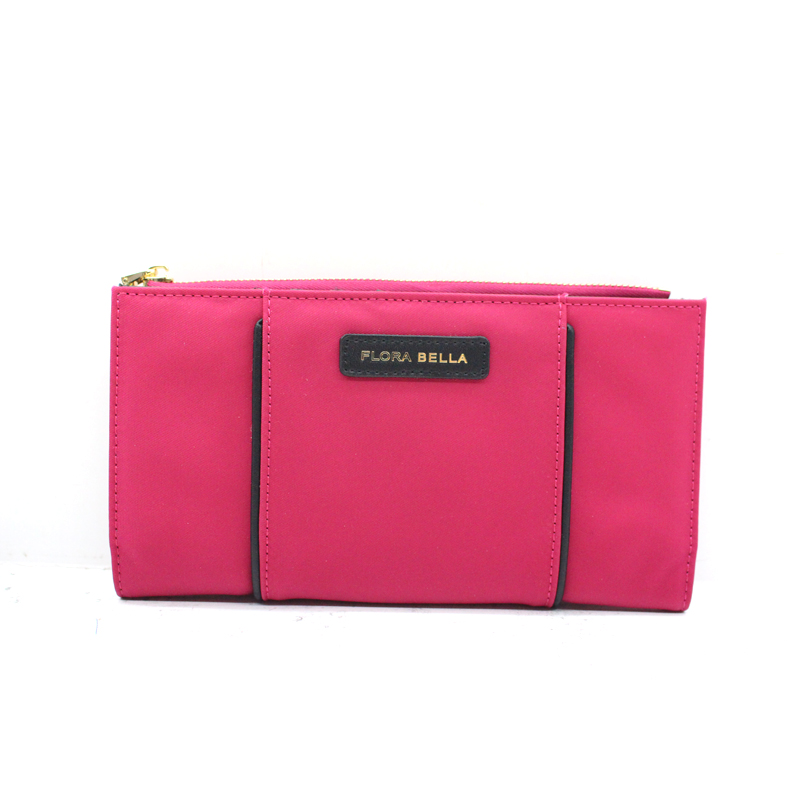 OEM Factory Sales  Ladies Nylon Long Style Wallet with Zipper Closure-YZ920324