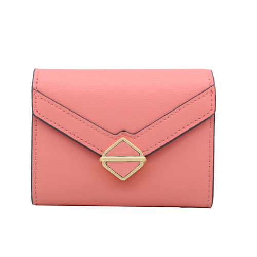 Short size ladies geniune leather wallet,card bag-YZ920354A