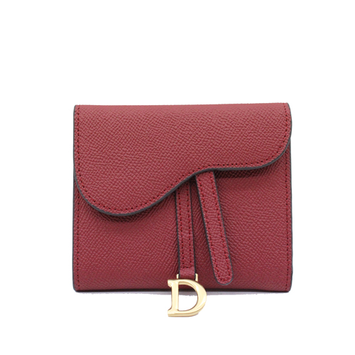 Leather ladies wallet with back zip-YZ920356A