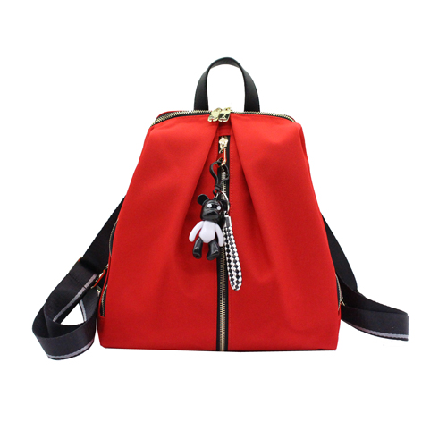 Wholesale 2019 Leisure Red Color women backpack-YZ920378