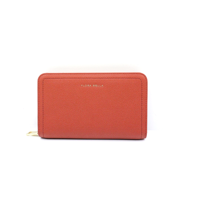 Chinese Supplier Short Ladies Wallet with Mental Zipper Closure -YZ920411S