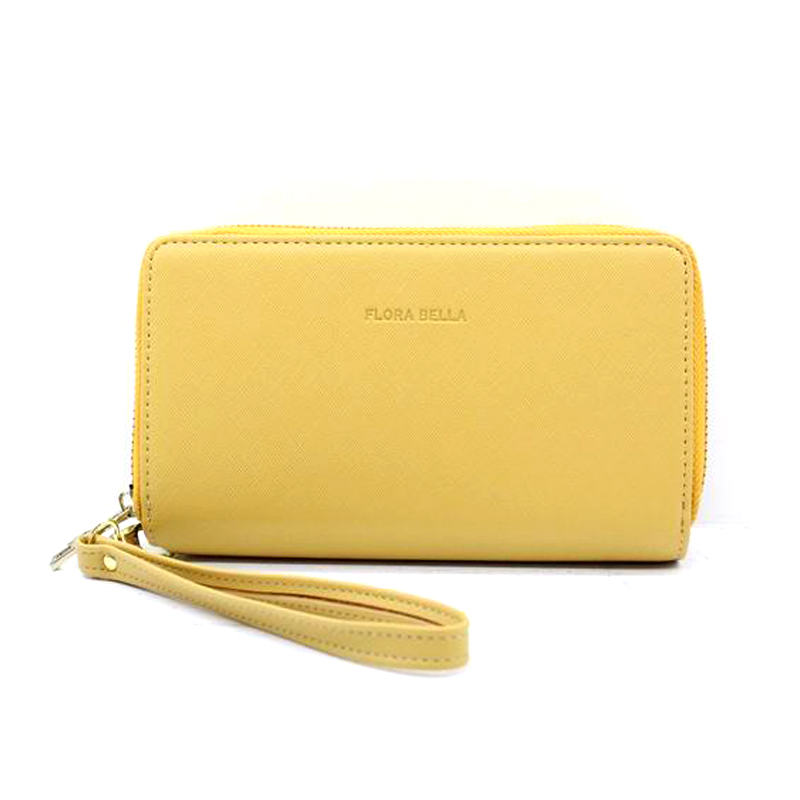 Chinese Manufacturer PU Material Long Classic Ladies Wallet-YZ920476F