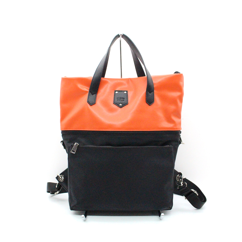 China Ladies Bag Supplier Color Match Ladies Handbag Bag and Backpack-YZ920549