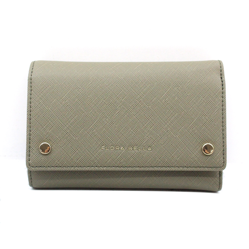 Chinese Manufacturer PU Material Short Ladies Wallet with Two Magnets as Decoration-YZ920642