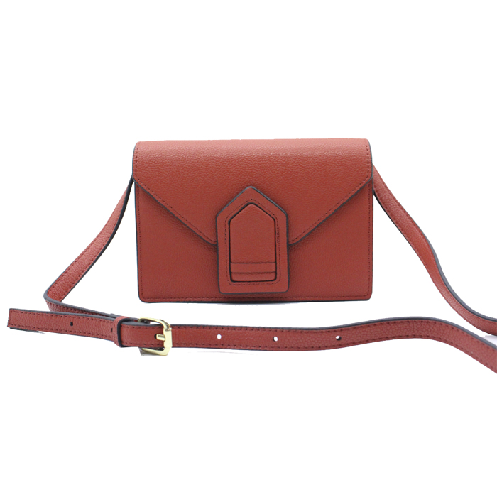Small size leather ladies shoulder bag-YZ930047A