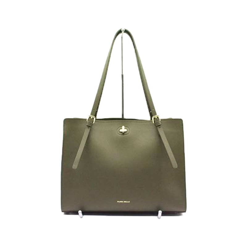 Professional Bag Manufacuterer Ladies Fashion Tote Bag with Double PU Handles -YZ980005