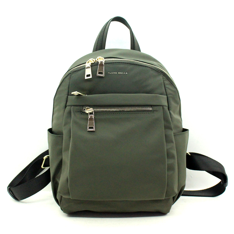 OEM/ODM Available Classic Green Casual Ladies Nylon Backpack-YZ980019