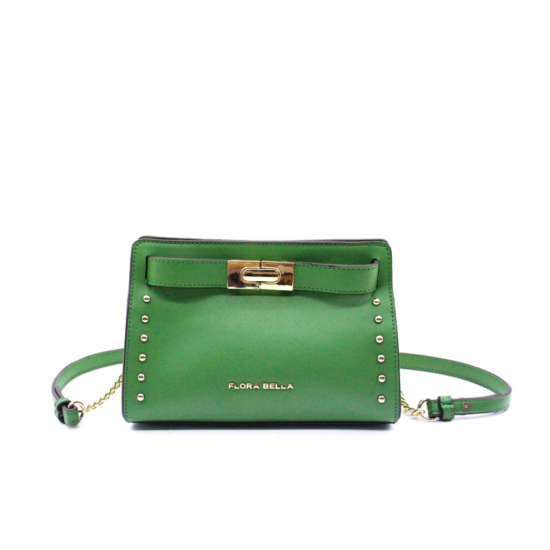 China Supplier Fashion Ladies Sling Rivet Bag with Shoulder Strap-YZ990004