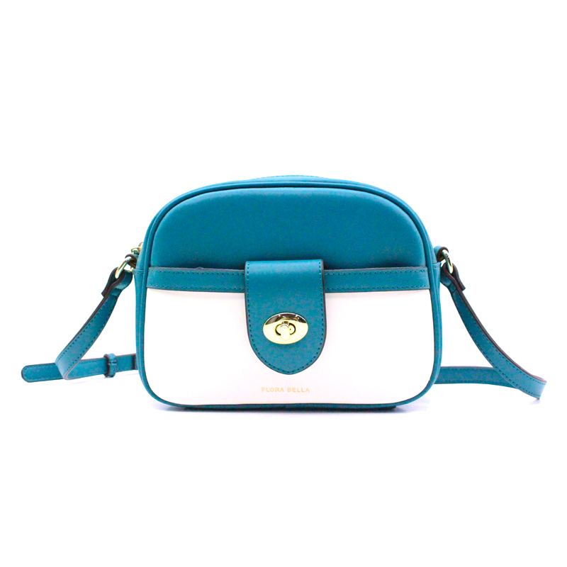 Chinese Supplier Match-color Sling Bag with Zipper Pocket on the Front-YZ990019