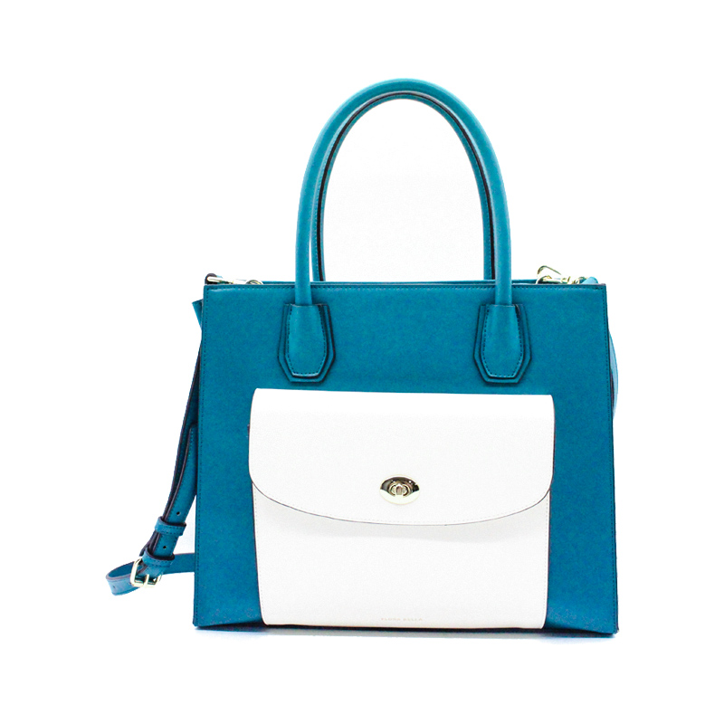 Chinese Supplier Match-color Ladies Handbag and Shoulder Bag with PU Shoulder Strap-YZ990020
